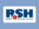 Das RSH Logo auf blauen Hintergrund.